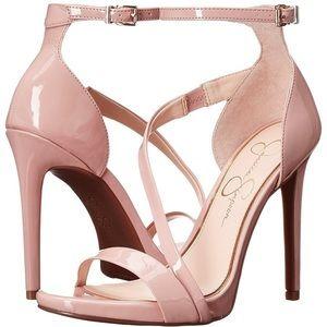 🆕NEW 'Rayli' Nude Patent Blush High Heels size 10